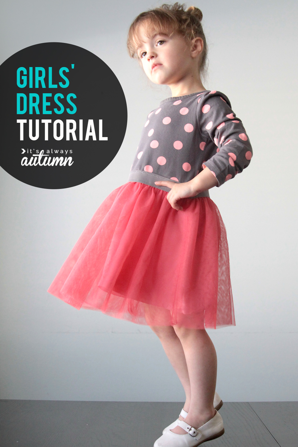 The Ballet Dress A Simple Girls Sewing Tutorial Its