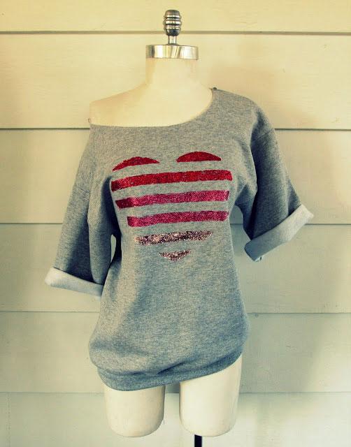 20 Fantastic DIY Valentines Day T Shirts Its Always Autumn