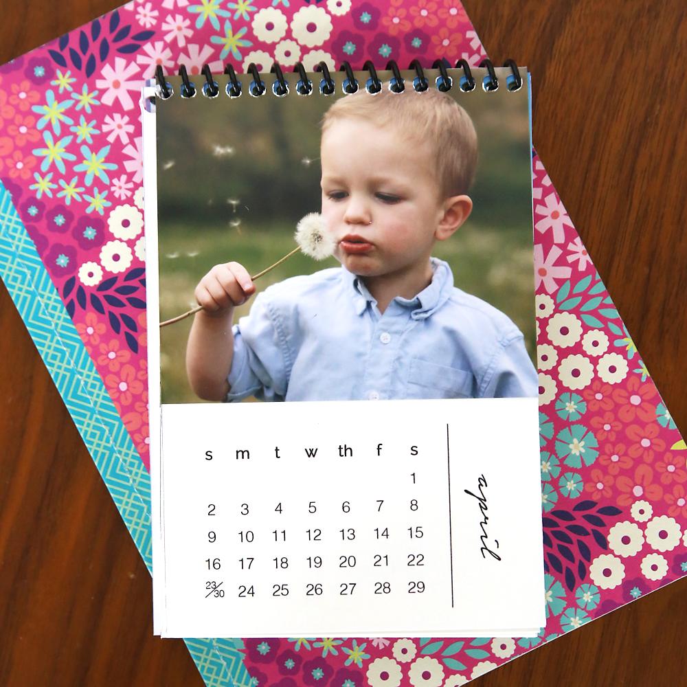 DIY Mini Photo Calendar Wfree Printables Its Always Autumn