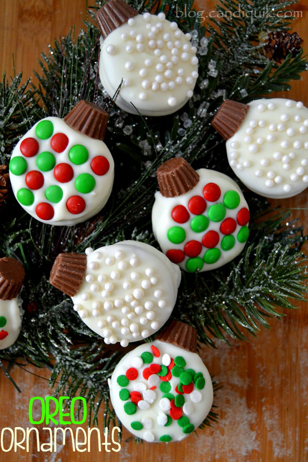 Decorated Marshmallow Pops Christmas