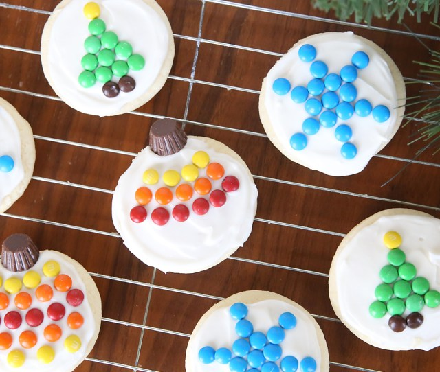 Easy To Decorate Mm Christmas Sugar Cookies