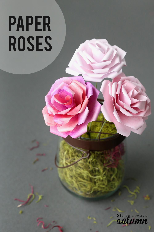 Tissue paper roses martha stewart mightylinksfo