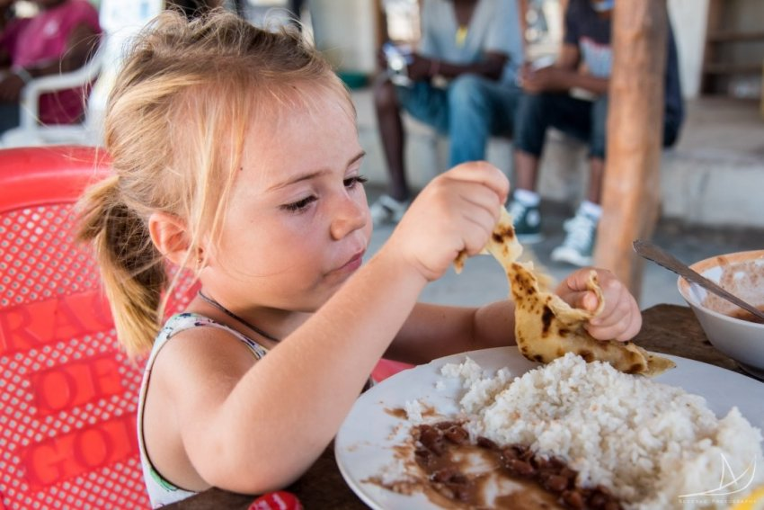 Travelling With Kids Broadens Their Palate