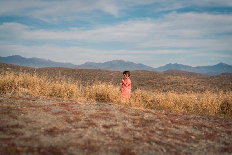 Ellia on our hilltop