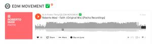 EDM Movement repost Roberto Masi - Faith Pacha Recordings Ibiza