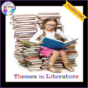 Themes in literature list is a free resource.