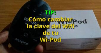 como cambiar la clave del wifi al wipod