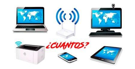 Cuantos dispositivos pueden conectarse a la Wifi