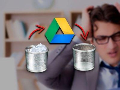 Google Drive borrará lo que tienes en tu papelera de reciclaj