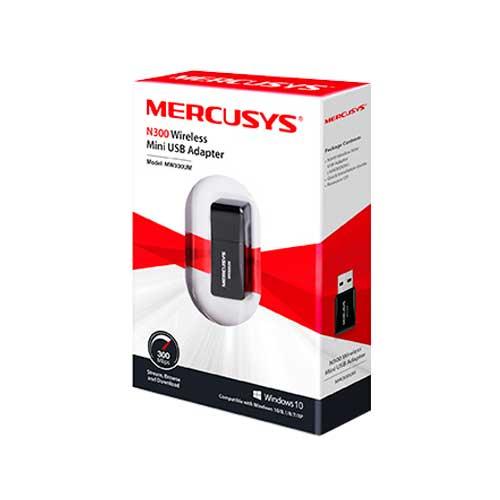 Adaptador Inalambrico USB N300 TP-Link MW300UM