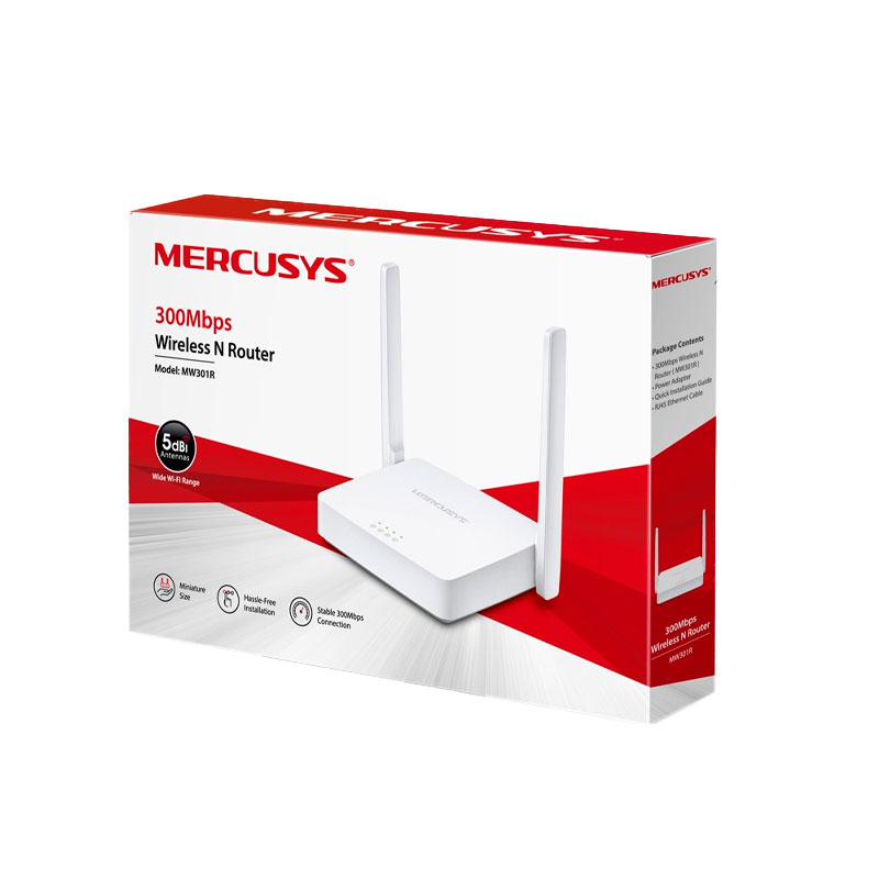 Router Inalámbrico N300 Mercusys MW301R