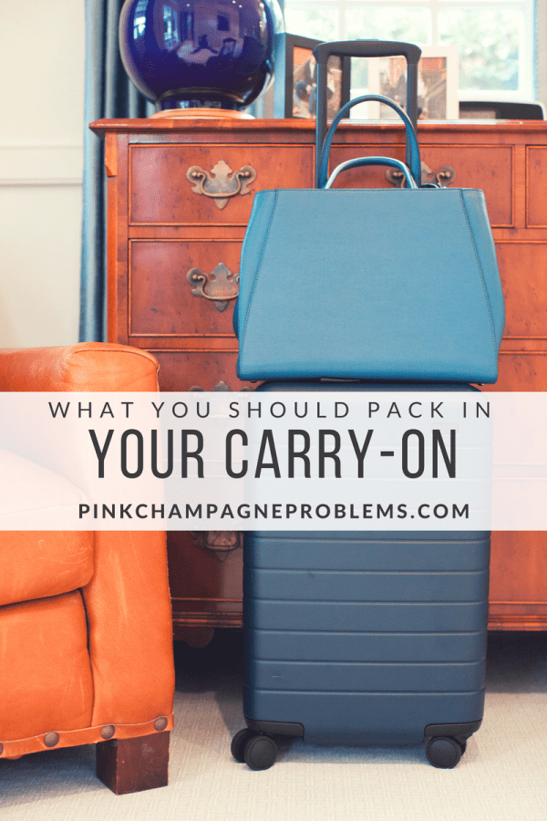 What To Pack In Your Carry-On