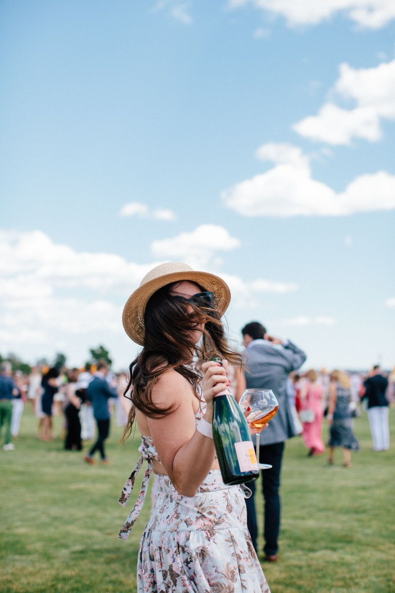 The 10th Annual Veuve Clicquot Polo Classic by NYC fashion blogger Dana of Pink Champagne Problems
