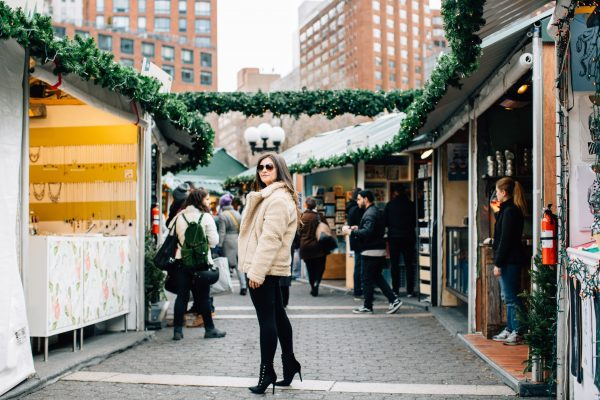 Christmas In New York: Union Square Market Holiday