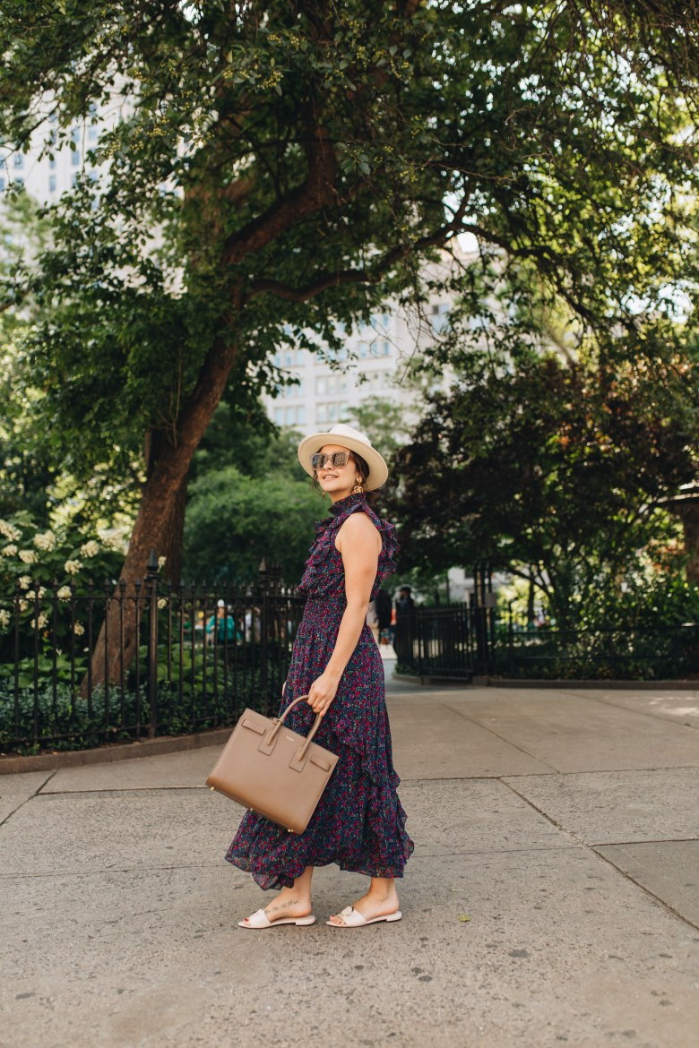 New York City fashion blogger, The Champagne Edit shares why she's doing No Shop August. Check it out and see how it works!