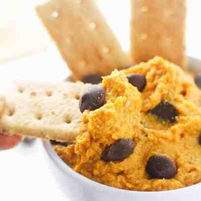 Pumpkin Cookie Dough Dip