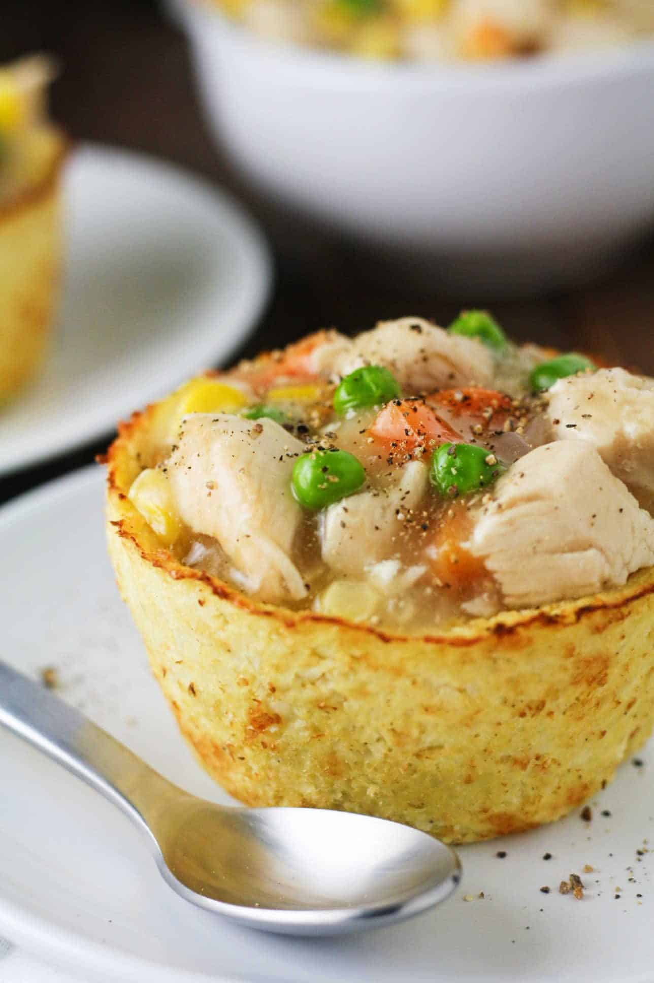 Low Carb Cauliflower Pot Pies It S Cheat Day Everyday