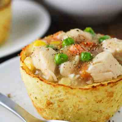 Low Carb Cauliflower Pot Pies