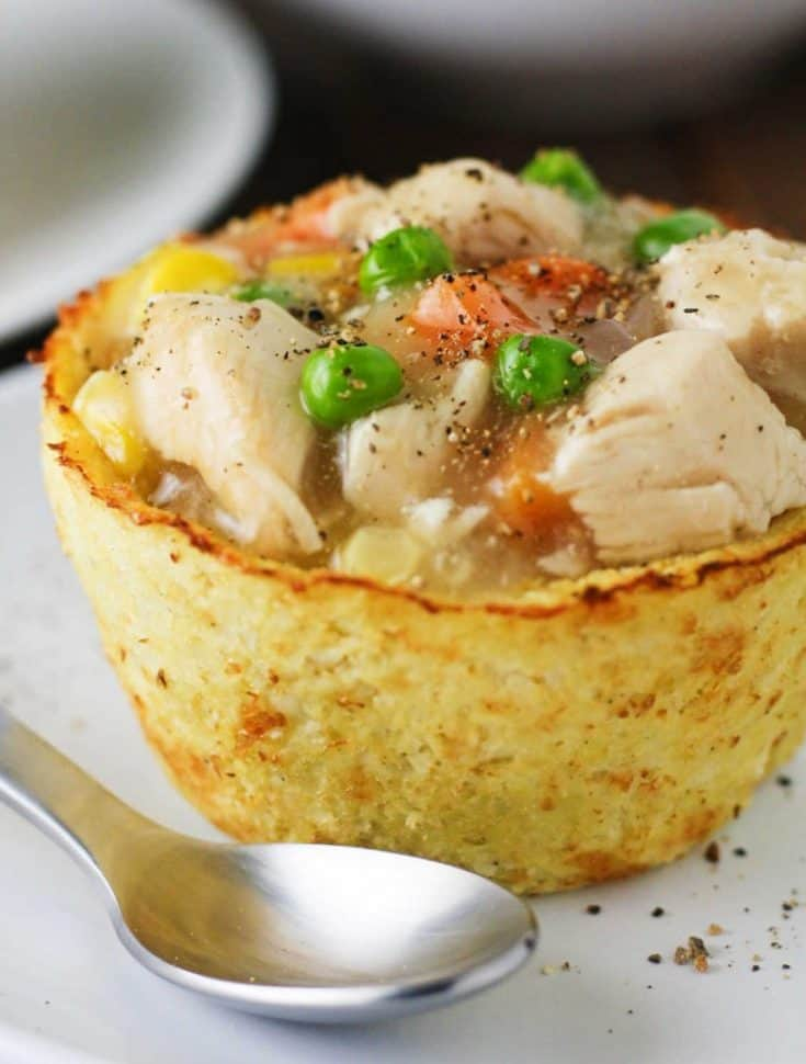 Low Carb Chicken Pot Pies