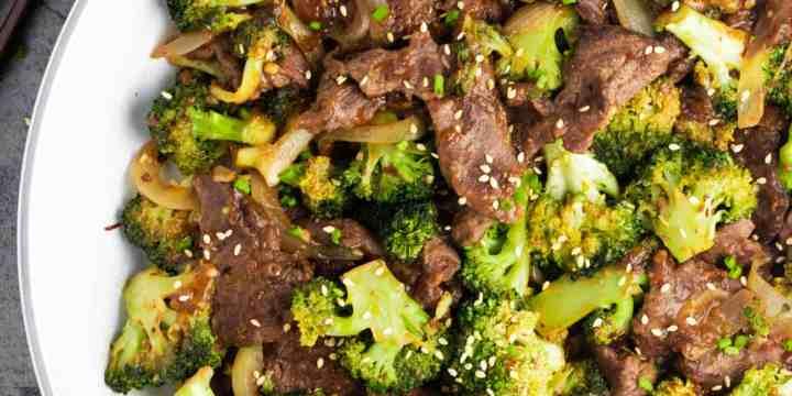 Healthy Beef and Broccoli Recipe