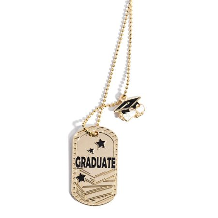 Charm Dog Tag - Graduate | Anderson's