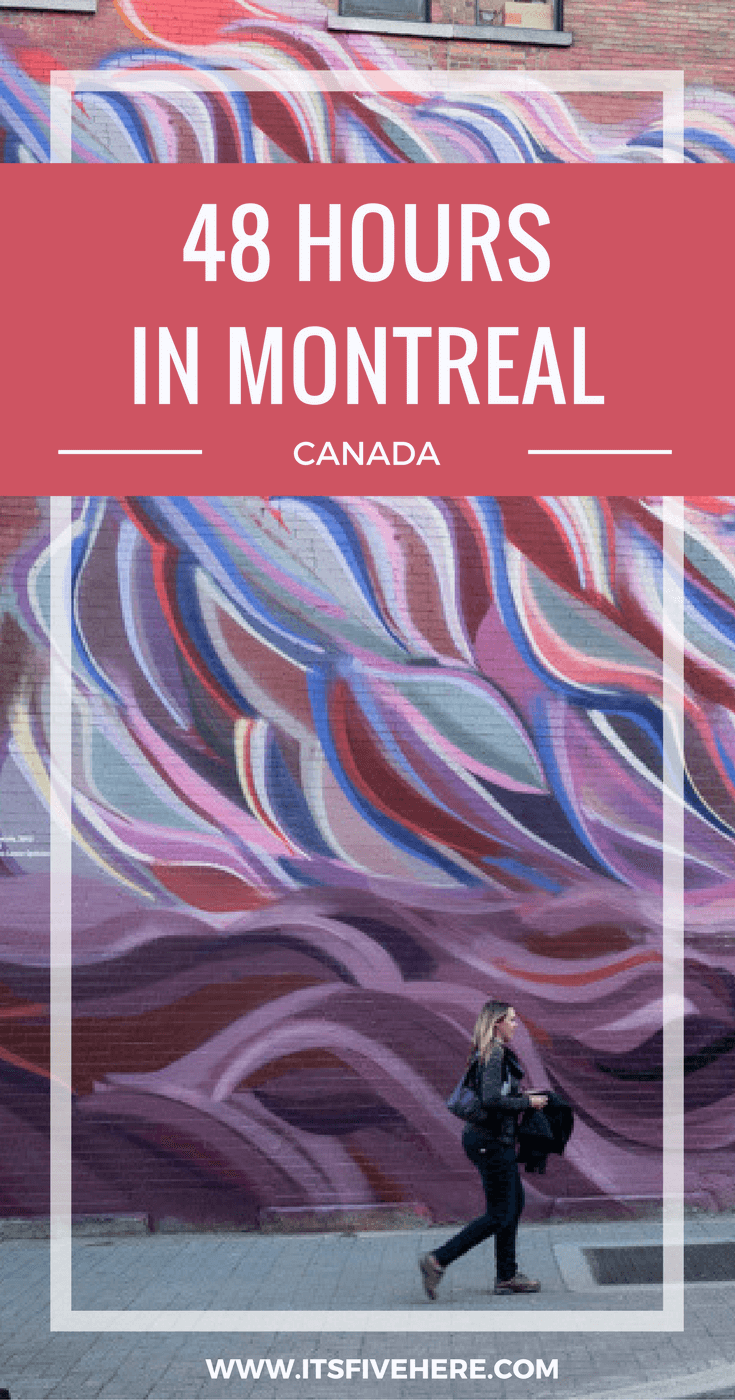 Montreal is an amazing Canadian city full of top notch food, culture, and architecture. If you've only got 48 hours to spend here, here's what to see.