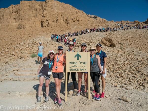 Snake Path, Masada, Israel