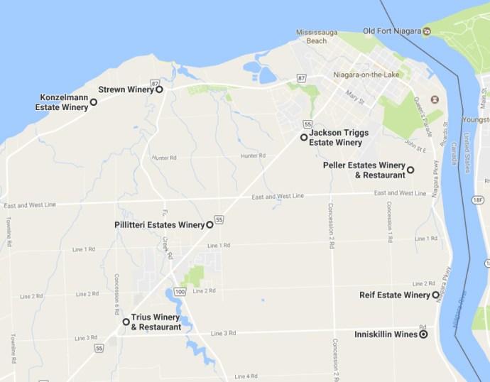 icewine map