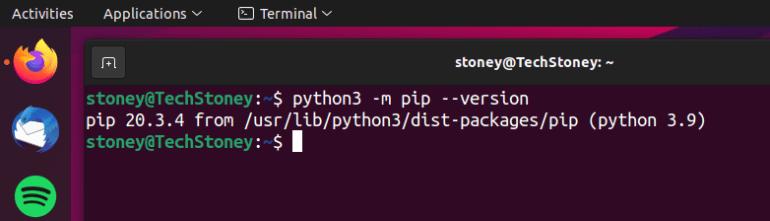 check-python-pip-version