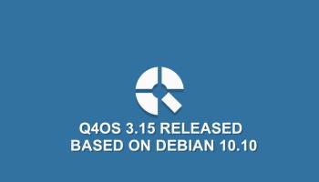 Q4OS 3.15 Release Download Based on Debian 10.10
