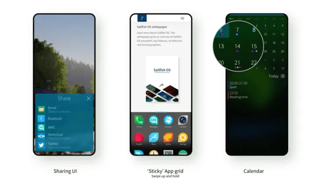 """Sailfish OS 4.2.0 """"Verla"""" improves the sharing of content"""