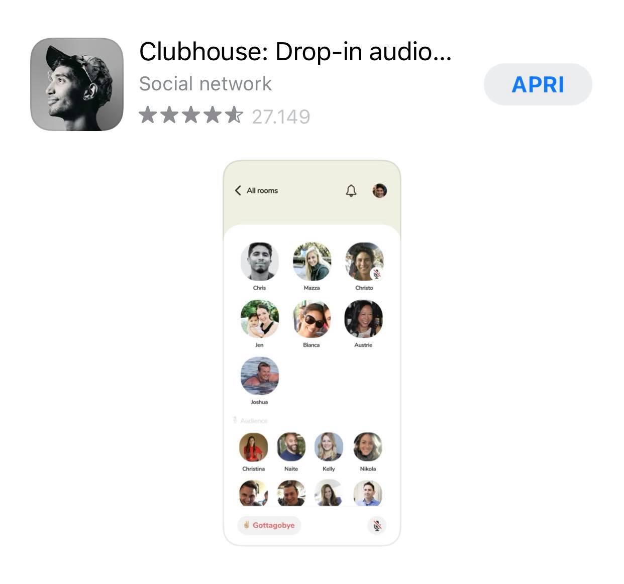 club house come si usa il nuovo social network drop in audio