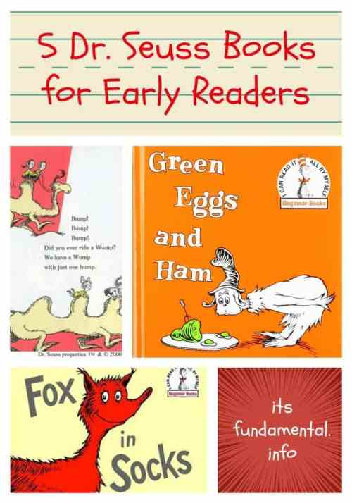 5 Dr. Seuss Books for Early Readers