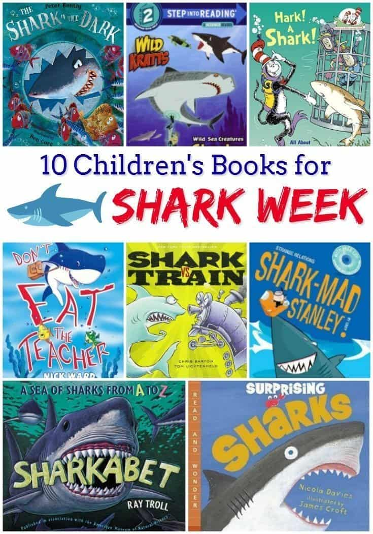 10 Children's Books for Shark Week