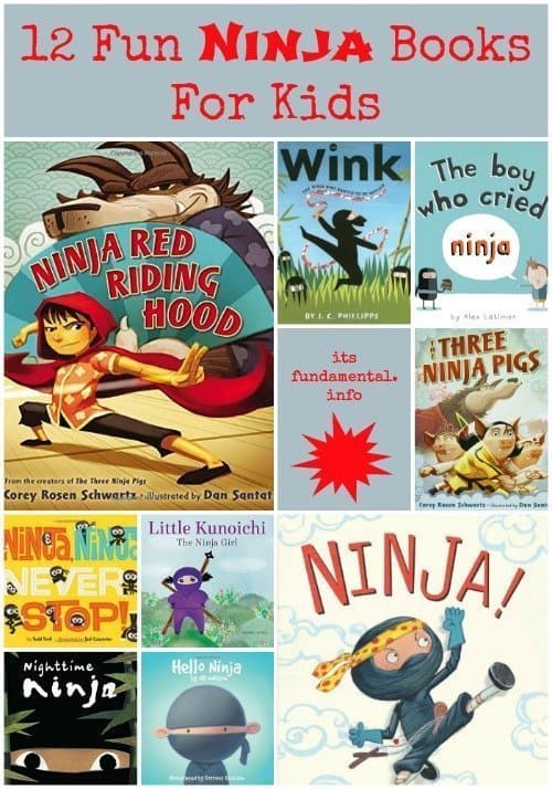 12 Fun Ninja Books for Kids