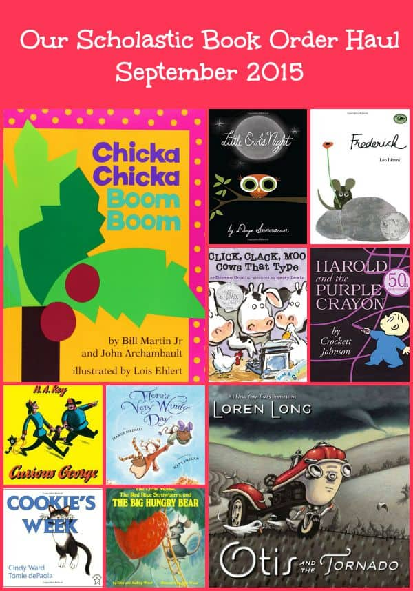 Our Scholastic Book Club Haul September 2015 Fundamental