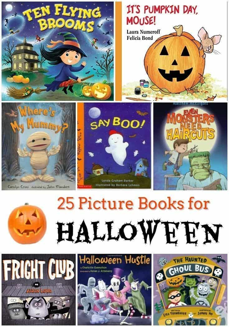 25 Fun Picture Books for Halloween