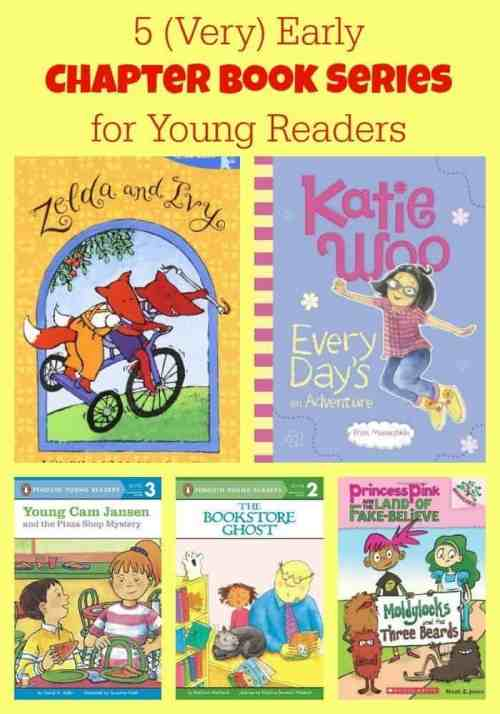5 Very Early Chapter Book Series for Young Readers