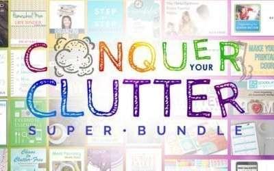 Conquer Your Clutter Super Book Bundle