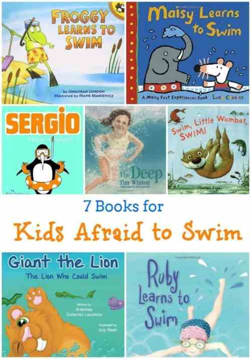 7 Books for Kids Who Are Afraid to Swim