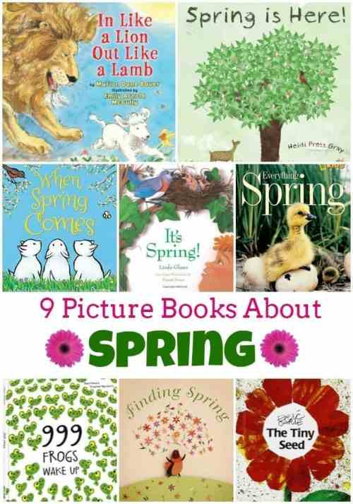 9 Children's Books About Spring