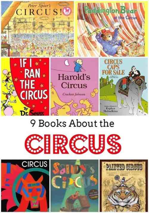 9 Children's Books About the Circus