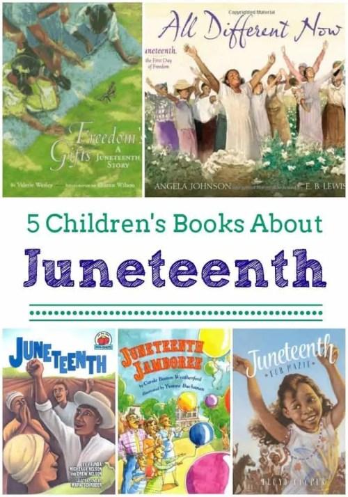 5 Children's Books About Juneteenth