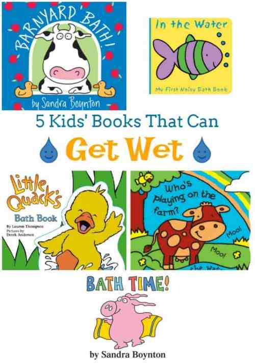 5 Best Bath Books for Babies