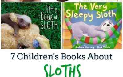 7 Children's Books About Sloths