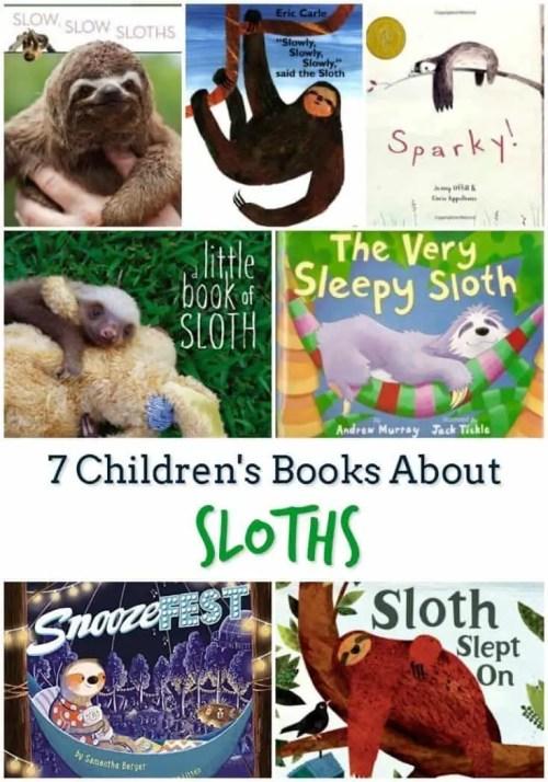 7 Children's Books About Sloths