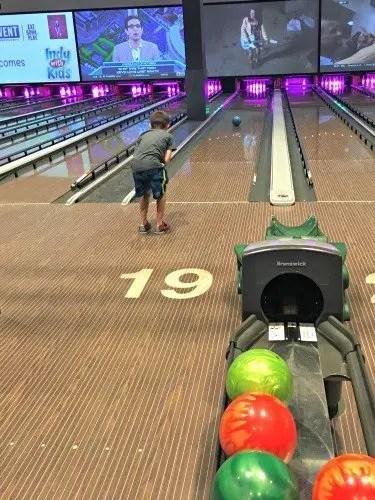 Bowling at Main Event Indianapolis