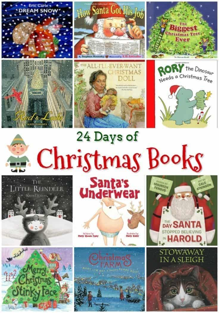 24 Days of Christmas Books