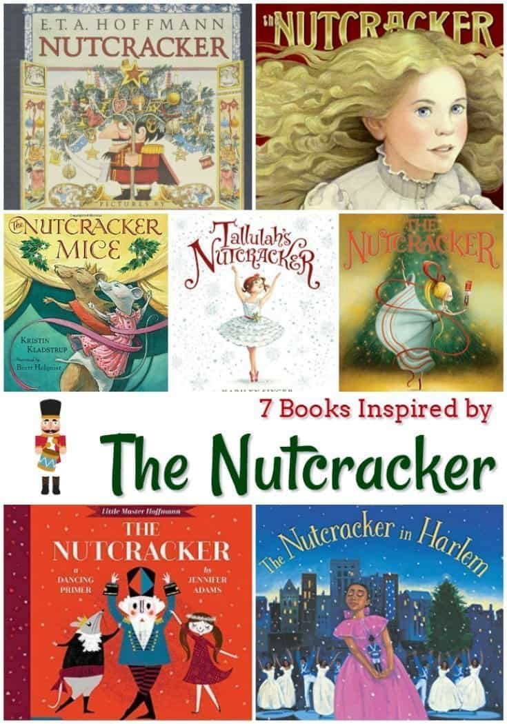 7 Children's Books Inspired by The Nutcracker Ballet
