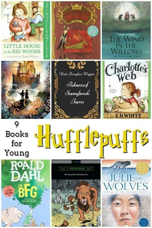 9 Books for Young Hufflepuffs